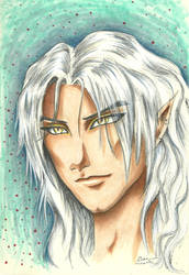 Portrait of a Dragon Prince