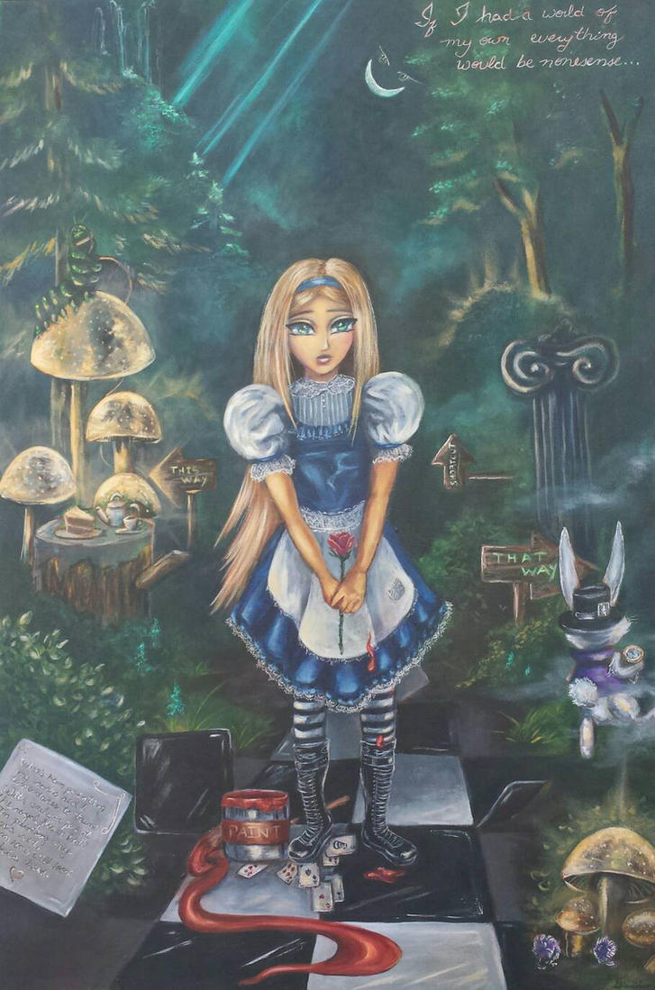 Lost in Wonderland by SyriusAntares