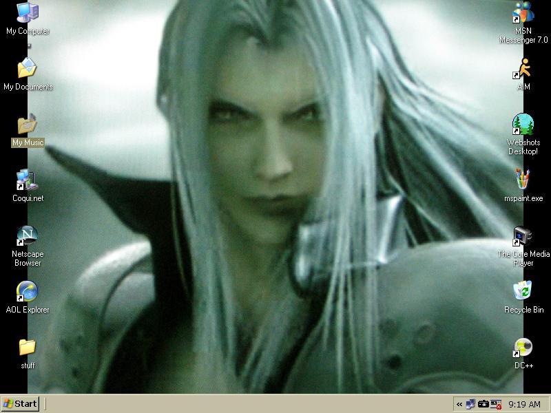 Sephiroth by SyriusAntares