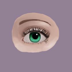 Green Eye by GraphiteForest