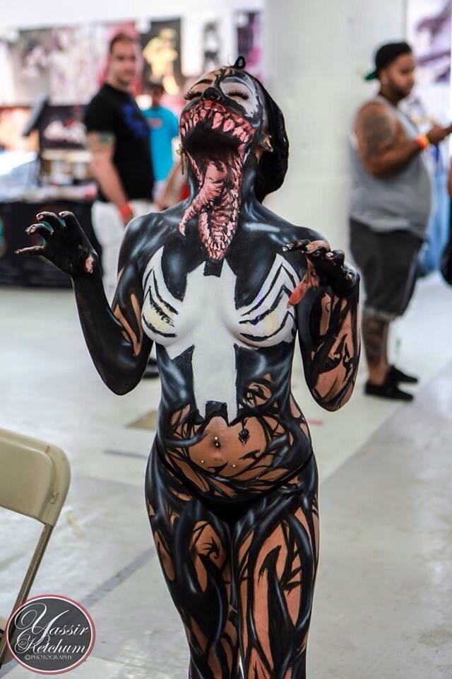 Venom Cosplay - 5 by GhostXS