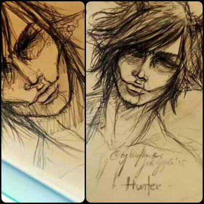 sketch hunter by blutkonserve