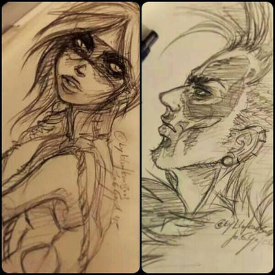 sketch character by blutkonserve