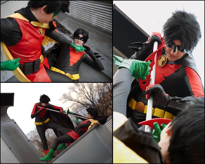 Robin vs. Robin by Kato-Yue