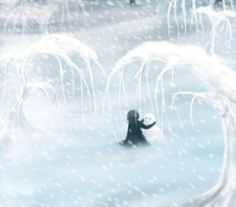 Icy world by xRaggsokkenx