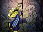 Mistress of Storm Wallpaper