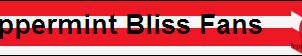 Peppermint Bliss Fan Button by XxSolarMoonclipsexX