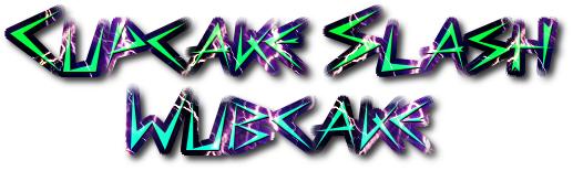 Wubcake/Cupcake Slash logo by mylittleponyfan100