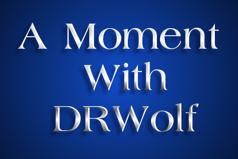 A Moment With DRWolf logo by mylittleponyfan100