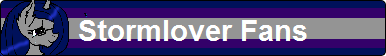 Stormlover Fan Button by XxSolarMoonclipsexX