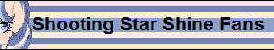 Shooting Star Shine Fans Button by XxSolarMoonclipsexX
