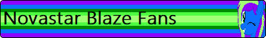 Novastar Blaze Fan Button