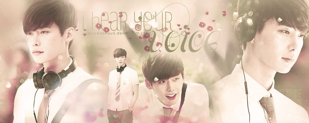 Lee Jong Suk  I hear your voice by MunMotMau5Lee Jong Suk I Hear Your Voice