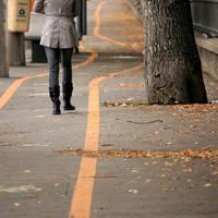 She. Leaves. She leaves. by icstefanescu