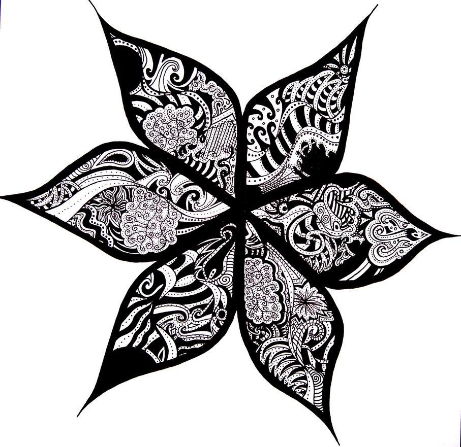 Bloom - flower tattoo