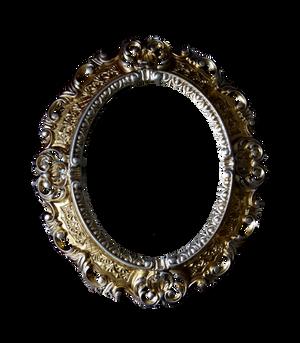 Vinitage Mirror Stock Photo