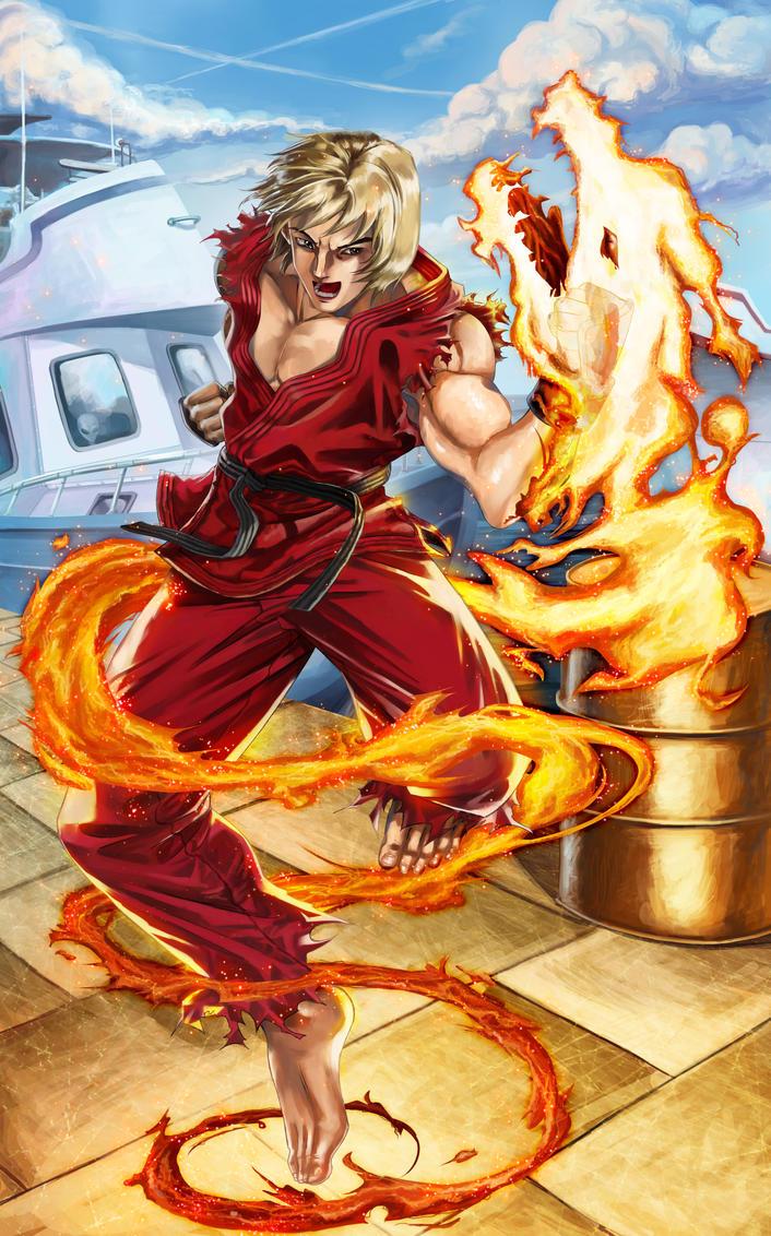 SHIN-Sho-Ryu-Ken!!! by spiritualfeel