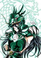 Dragon Shiryu by spiritualfeel