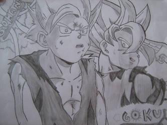dragon ball z drawing by maxyxm