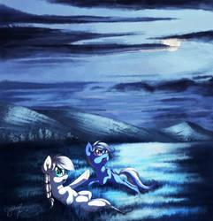 [Commission] Stargazing by Hagalazka