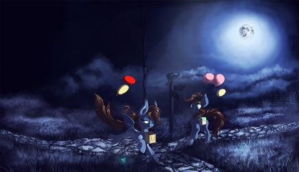 [Commission] Night Meeting by Hagallaz