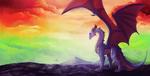 [CM] Sky of the rainbow by Hagallaz