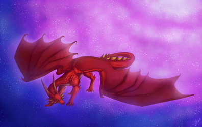 A dragon from dreams