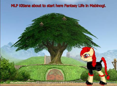 Kitiana as an MLP:FIM Pony