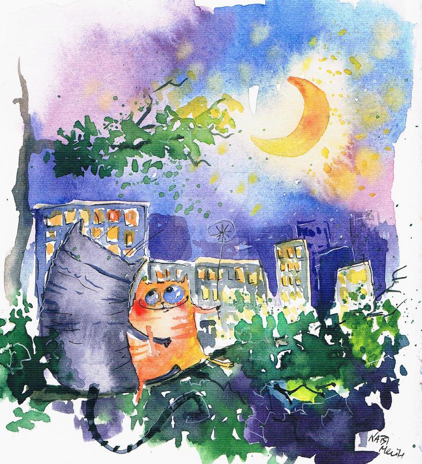 good night by bemain