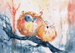 owls - friends