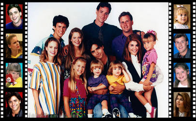 Full House Filmstrip by Mistify24