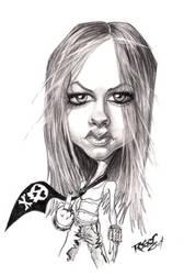 Avril Lavigne Caricature