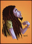 Bob Marley Colored