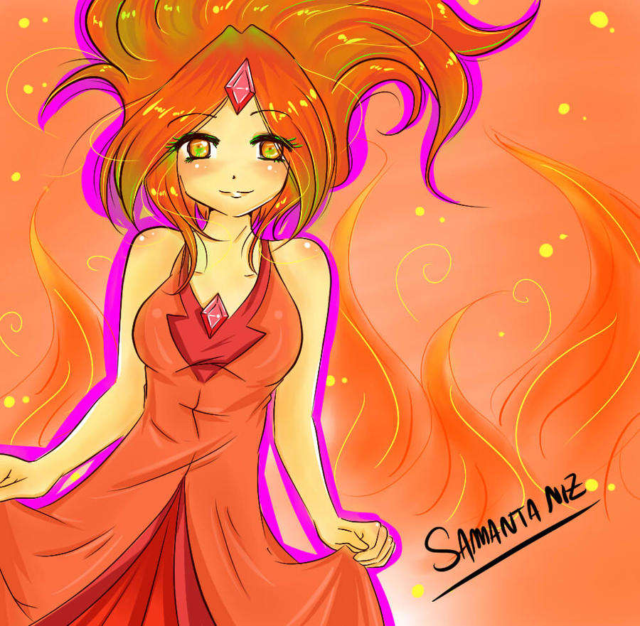 Flame Princess time adventure by keitenstudio