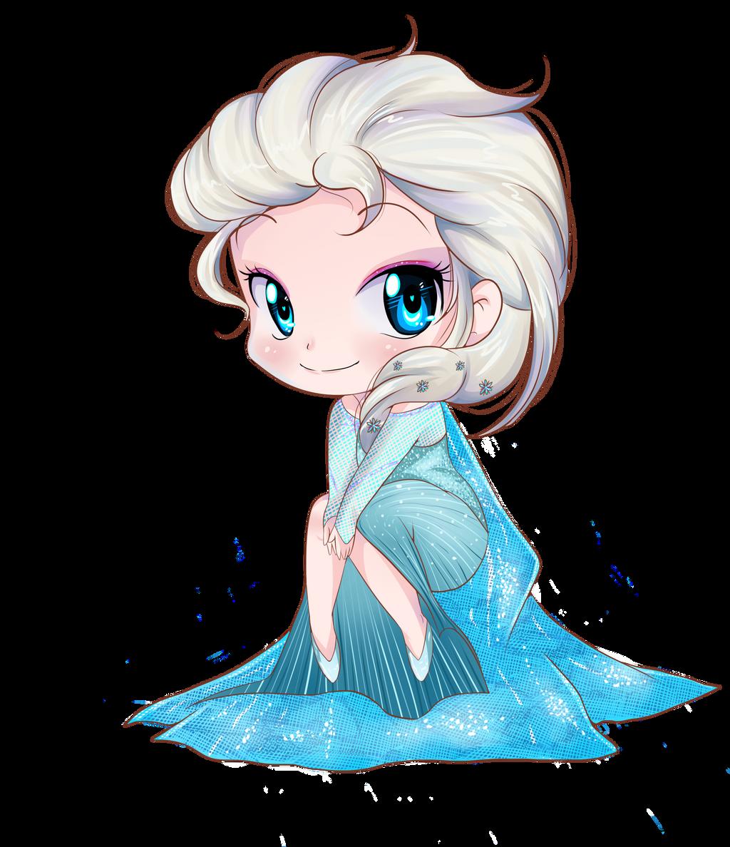 Elsa frozen chibi by keitenstudio on DeviantArt