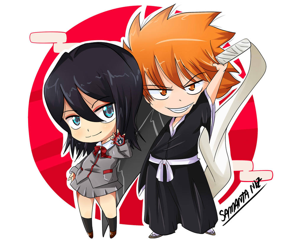 ichigo rukia chibi -#main