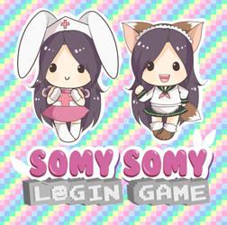 Somy Somy Login Game chibis by keitenstudio
