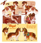 FOR SALE:: Hazel, new design and old. OPEN