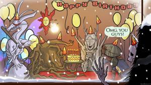 Dark Souls Birthday Party
