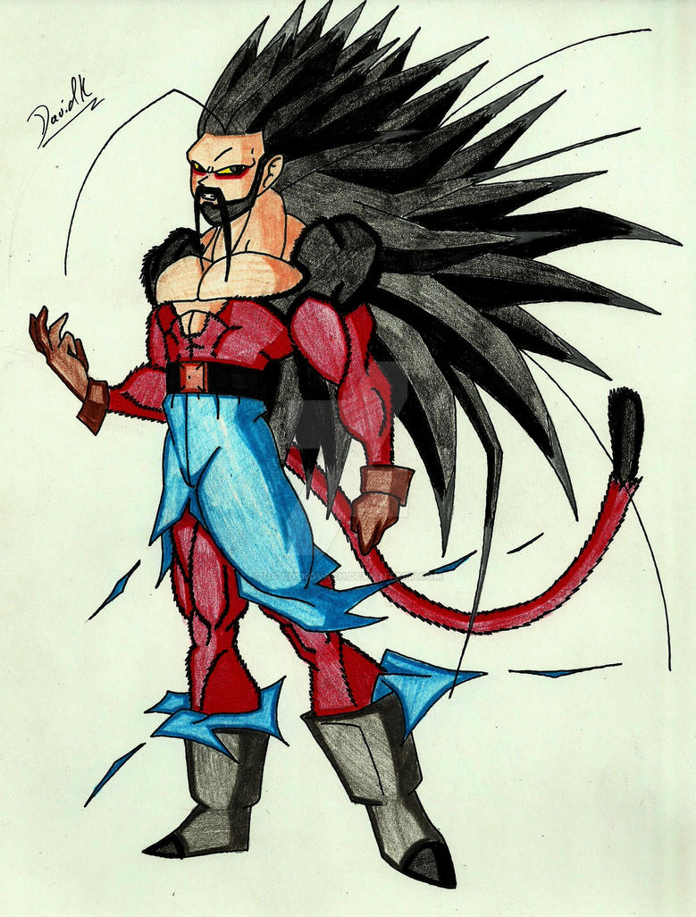 Mcclane ascended beast super saiyan 5 by davidskovach on - Super sayen 5 ...
