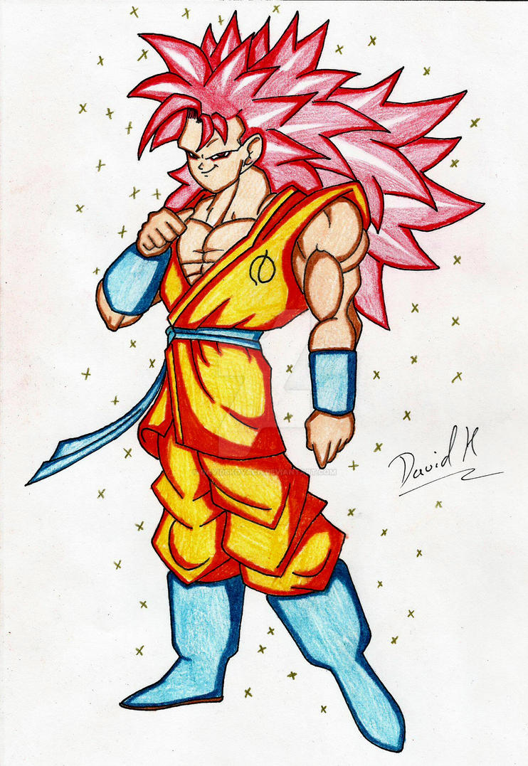 Goku Super Saiyan God Ascended Grade II By DavidsKovach On