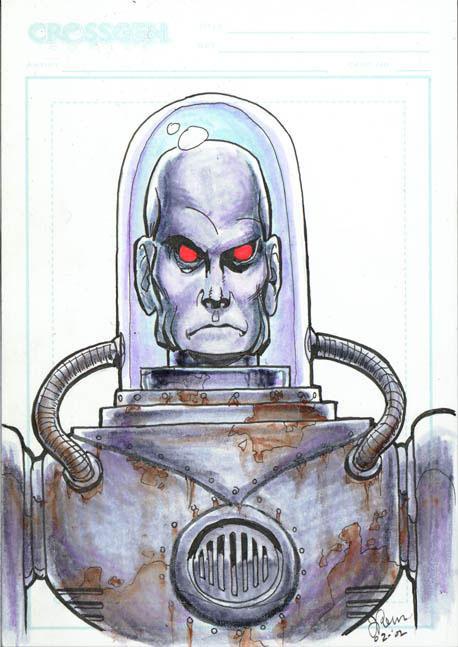 Teeny Mr. Freeze sketch by JoopaDoops
