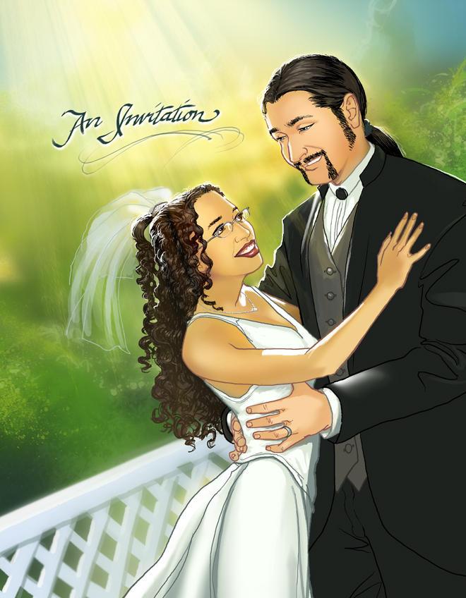 Wedding Reception Invite 2006 by JoopaDoops