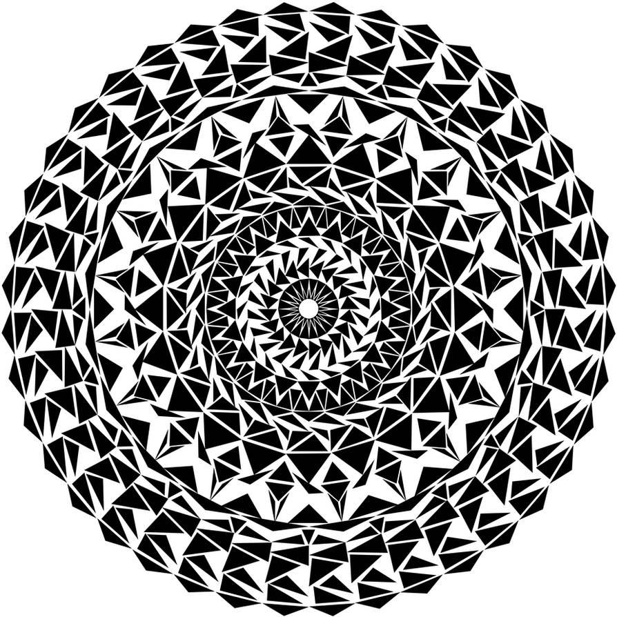2c5b4983a2e75 Triangle Mandala by molly-ec on DeviantArt