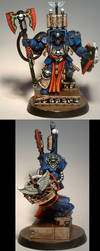 Blood Angels: converted Space Hulk Scriptor by TheBl4ckCat