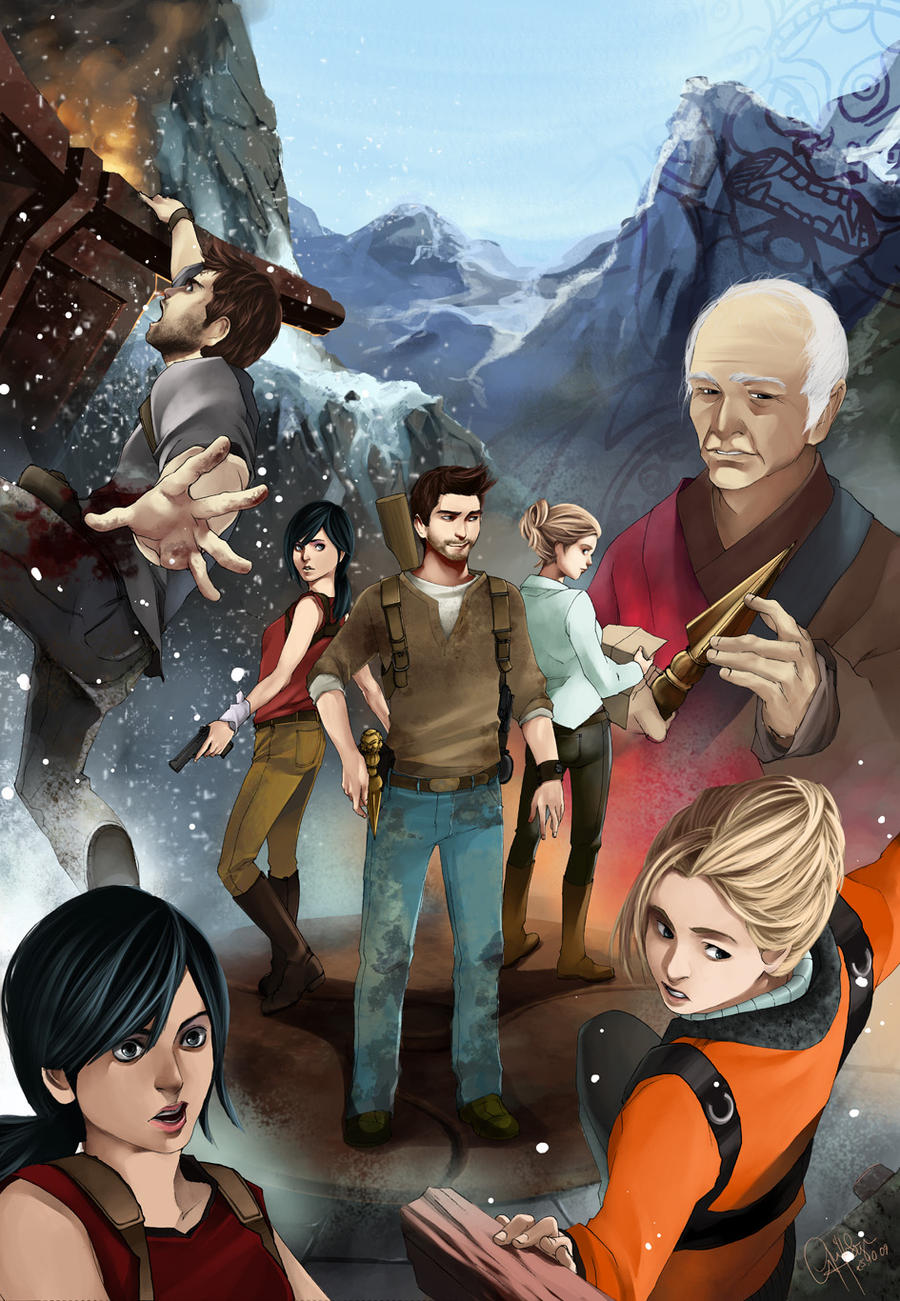 Jack-R-Abbit offers a take on a potential Uncharted 2 poster