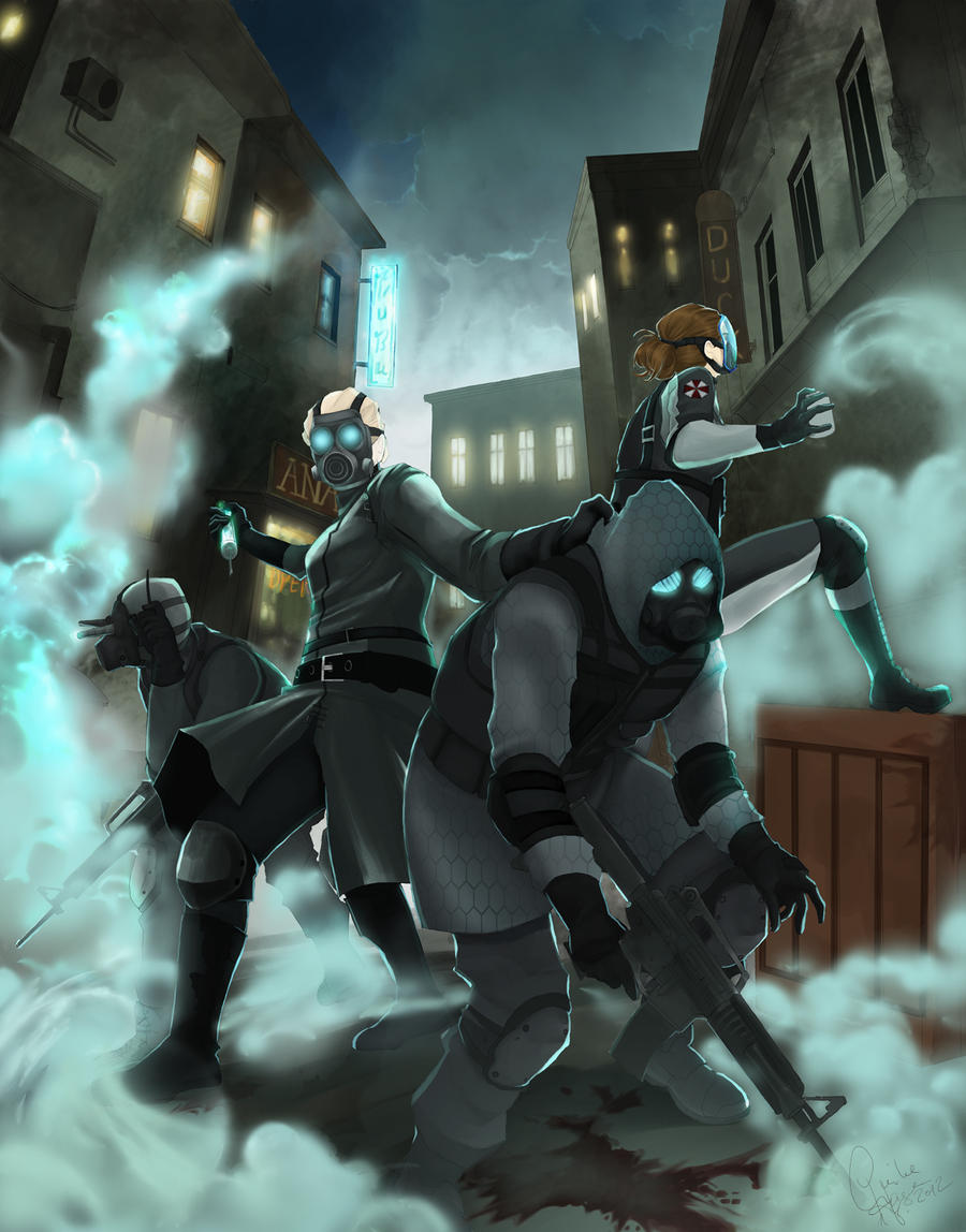 Operation Raccoon City by Jack-R-Abbit