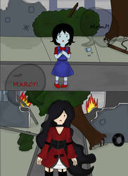 Comic- Where is my mom?- Page 1 by Sailor-sheep