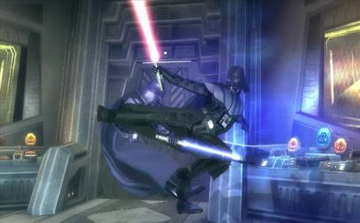 Flying Vader Kick