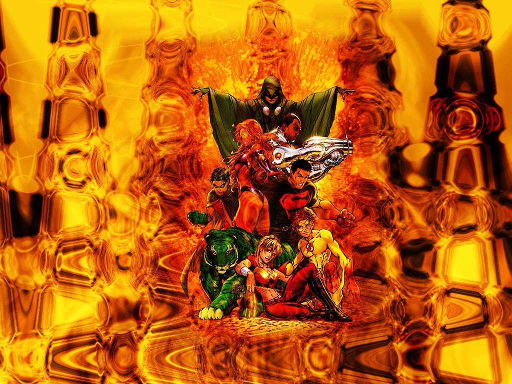 Teen Titans by Deus-Mageron